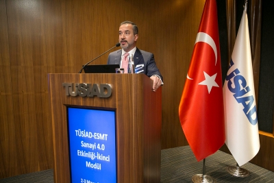 THE TRAINING ACTIVITIES ORGANIZED BY TÜSİAD AND ESMT ON INDUSTRY 4.0