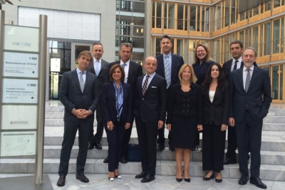 A TÜSİAD delegation visited Berlin to hold talks on proper understanding of the aftermath of the events of 15th of July and on further strengthening the long established relationship between Turkey and Germany