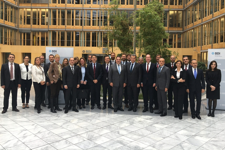 IMPORTANT STEP TAKEN BY TUSIAD AND BDI ON TURKEY-GERMANY ECONOMIC RELATIONS